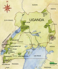 Frequently Asked Questions Wildlife Experience East Africa Safaris - Where is uganda